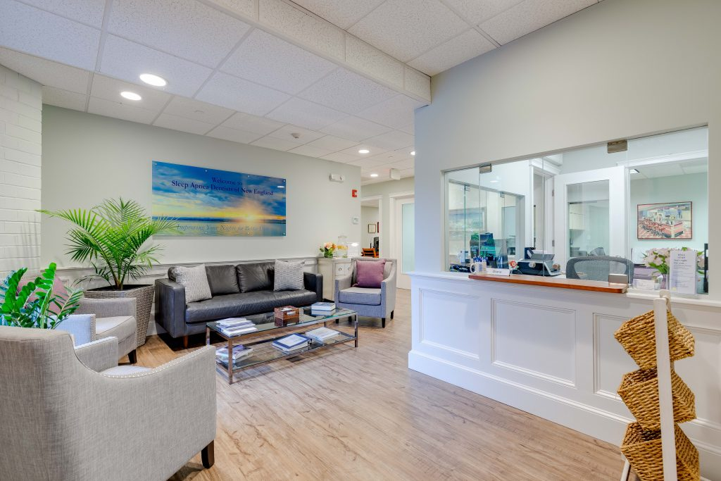 Reception Area at Sleep Apnea Dentists of New England